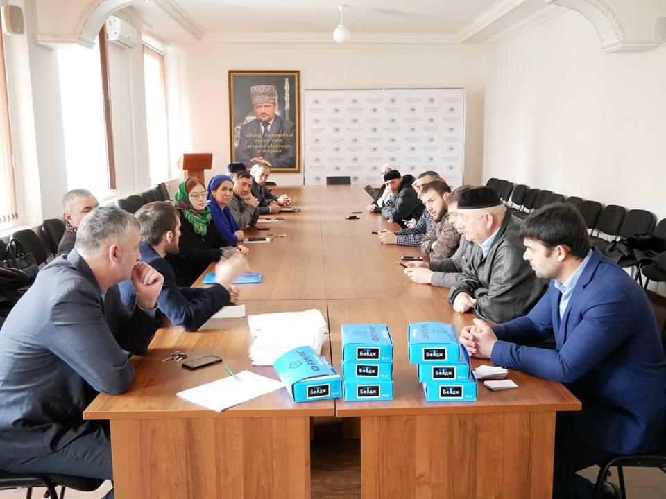 В Общественной палате ЧР прошло совещание с бригадирами общественных наблюдателей на выборах Президента РФ