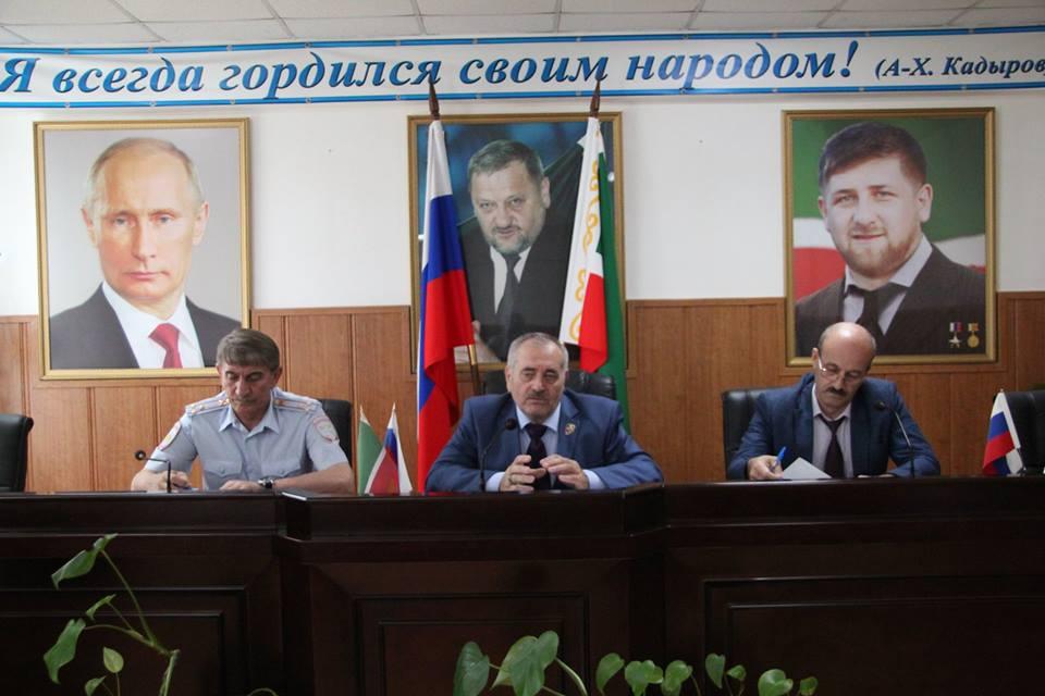Очередная встреча по профилактике ДТП состоялась в Министерстве имущественных и земельных отношений ЧР